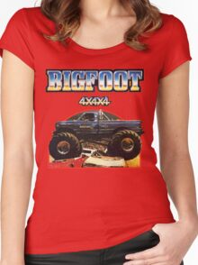 Big Foot 4x4x4 Women's Fitted Scoop T-Shirt