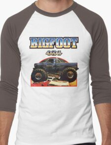 Big Foot 4x4x4 Men's Baseball ¾ T-Shirt