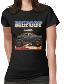 Big Foot 4x4x4 Womens Fitted T-Shirt