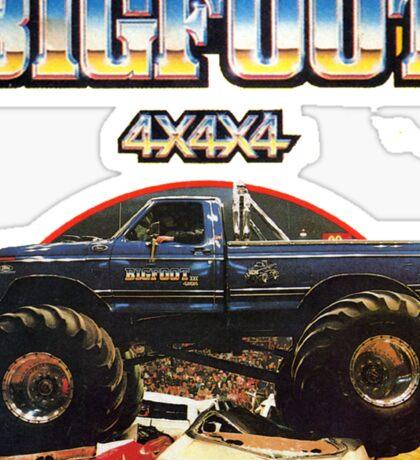Big Foot 4x4x4 Sticker