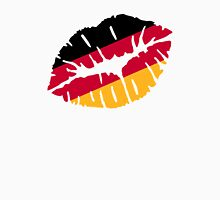Germany flag kiss Womens Fitted T-Shirt