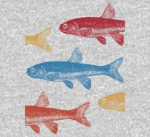 Colourful Fish Kids Clothes