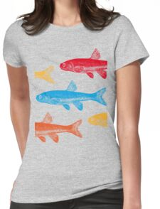 Colourful Fish Womens Fitted T-Shirt