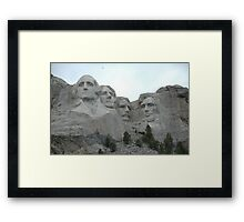 Our Past Leaders Framed Print
