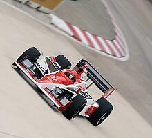 A.J. Foyt IV Vision Racing/Lilly Diabetes Car by Mark Bolen