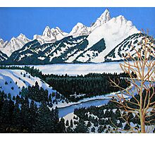 Grand Teton Photographic Print