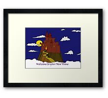 Welcome to Your New Home Framed Print