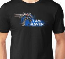I am Raven (White Text) Unisex T-Shirt