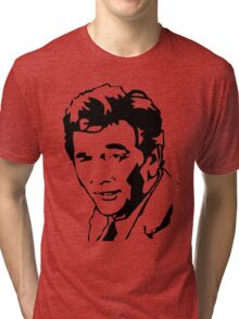 Peter Falk Columbo Tri-blend T-Shirt
