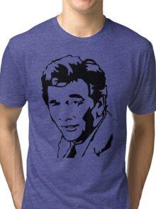Peter Falk Columbo Tri-blend T-Shirt