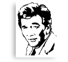 Peter Falk Columbo Canvas Print
