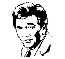 Peter Falk Columbo Photographic Print
