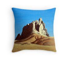 Ship Rock Throw Pillow
