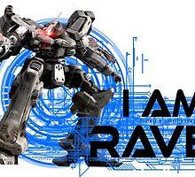 I am Raven (Black Text) by DragonL0rd132