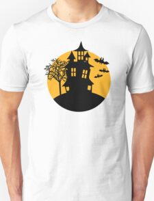 Halloween Scary horror house T-Shirt