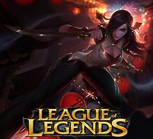 LEAGUE OF LEGENDS KATARINA by lordhelix