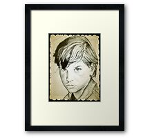 Ralph Macchio drawing Framed Print