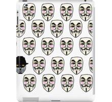 Q For Vendetta iPad Case/Skin