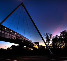 The Willis Family Bridge at IPFW by Kevin Whaley