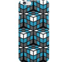 cascade - grey/blue/white iPhone Case/Skin