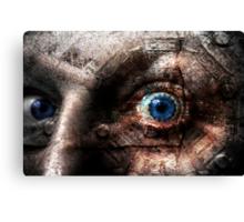 The marvellous human eye Canvas Print