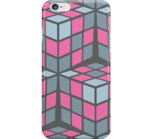 cascade - pink iPhone Case/Skin