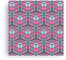 cascade - pink Canvas Print