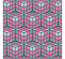 cascade - pink Photographic Print