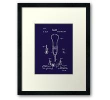 Pulse - Heart - 1882 Ford Stethoscope Patent Framed Print