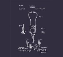 Pulse - Heart - 1882 Ford Stethoscope Patent Unisex T-Shirt