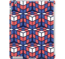 cascade - red/white/blue iPad Case/Skin