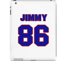 National football player Jimmy Childs jersey 86 iPad Case/Skin
