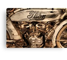 Thor Motorcycle Canvas Print
