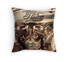 Thor Motorcycle Throw Pillow
