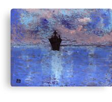 The ship Canvas Print