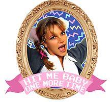 Britney Spears Frame by shebandit