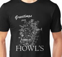 Greetings from Howl's Unisex T-Shirt