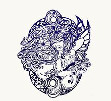 Lady Fox and Lilies by michellediann
