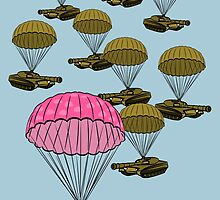 Tank Parachute by piedaydesigns