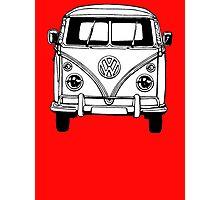 Volkswagen VW Bus Van Photographic Print