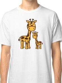 Comic Giraffe family Classic T-Shirt