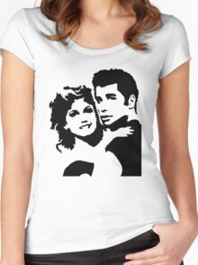 John Travolta Grease Women's Fitted Scoop T-Shirt