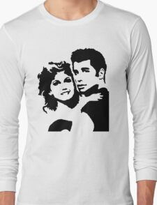 John Travolta Grease Long Sleeve T-Shirt