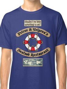 Lost But Happy At Sea Classic T-Shirt
