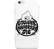 Goonies Never Say Die T-Shirt iPhone Case/Skin