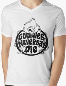 Goonies Never Say Die T-Shirt Mens V-Neck T-Shirt