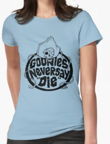 Goonies Never Say Die T-Shirt Womens Fitted T-Shirt