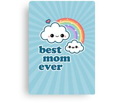 Cute Best Cloud Mom Canvas Print