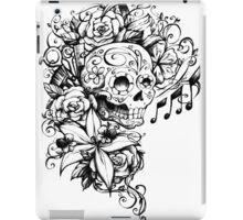 Singing Sugar Skull  iPad Case/Skin