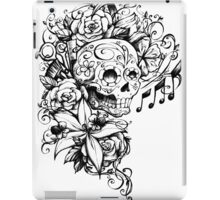 Singing Sugar Skull  iPad Case/Skin